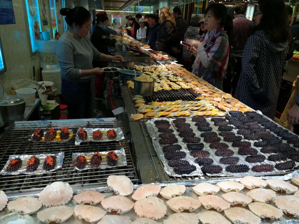 中国ローカル食堂の様子の写真