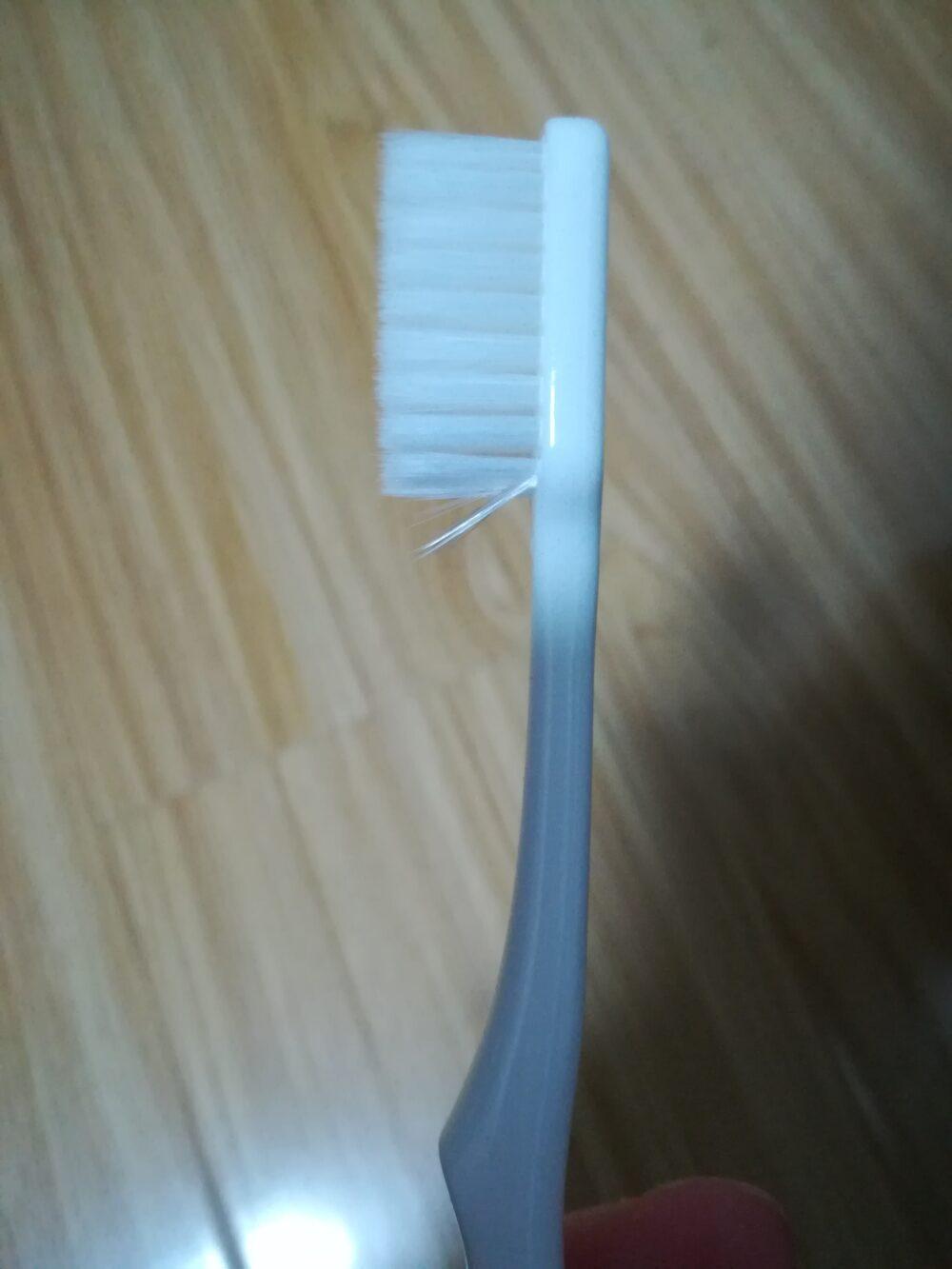 タオバオで歯ブラシを注文をして到着時に確認した際に不良品が発覚した時のスクリーンショットの画像