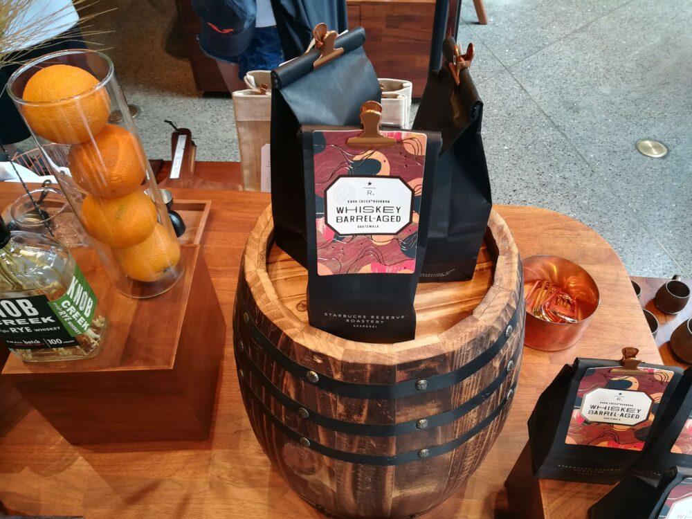 お土産におすすめのグアテマラ産コーヒー豆298元/150g(約4800円)の写真