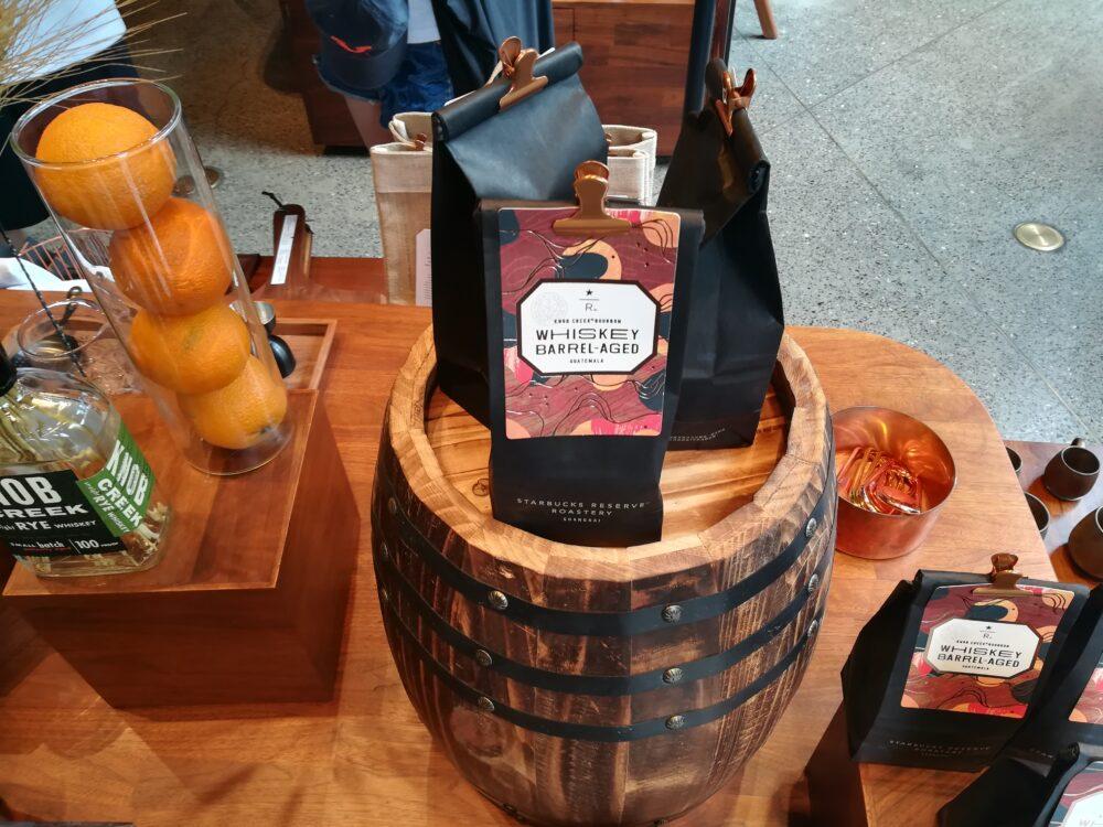 スターバックス ・リザーブ・ロースタリー・ シャンハイでお土産におすすめのグアテマラ産コーヒー豆298元/150g(約4800円)の写真