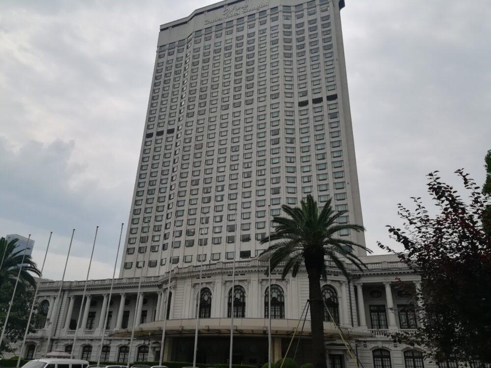 オークラ ガーデンホテル(花園飯店)の外観の写真
