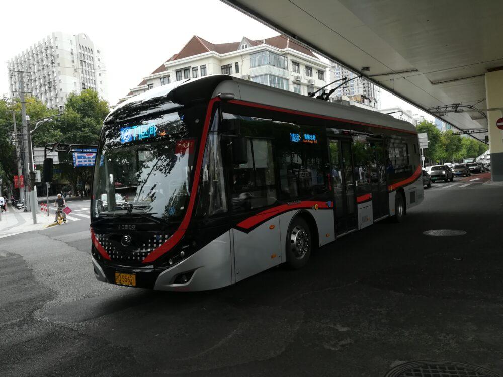 上海のバスの様子