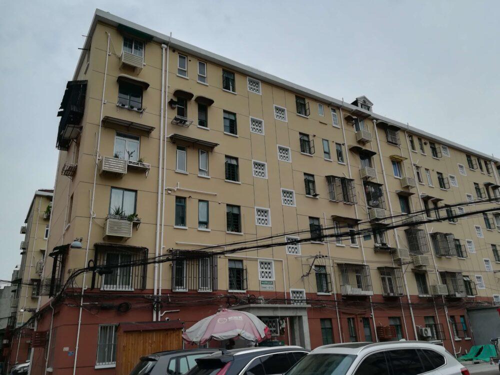 上海の現地採用者の家の外観の写真