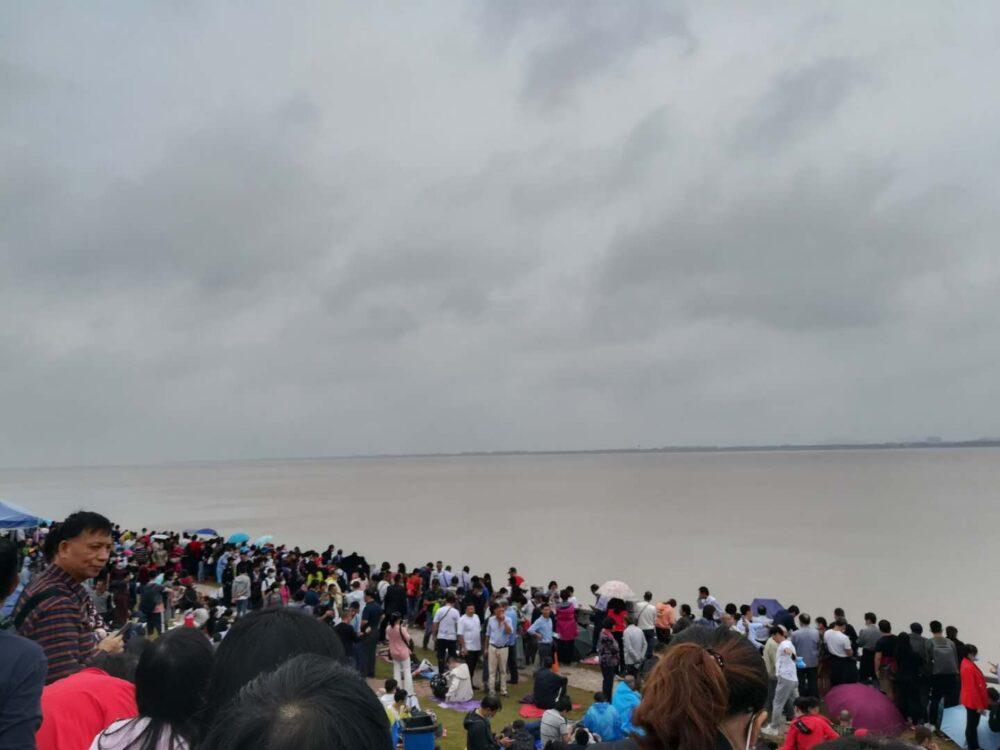 銭塘江の逆流観賞スポットの写真④