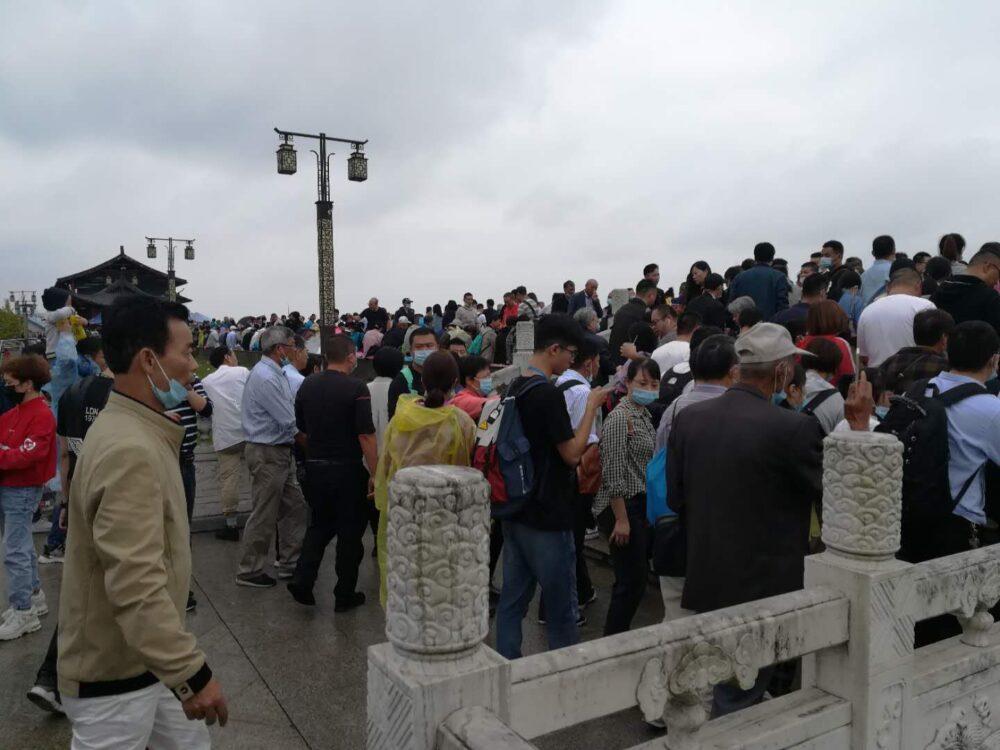 銭塘江の逆流観賞スポットの写真②