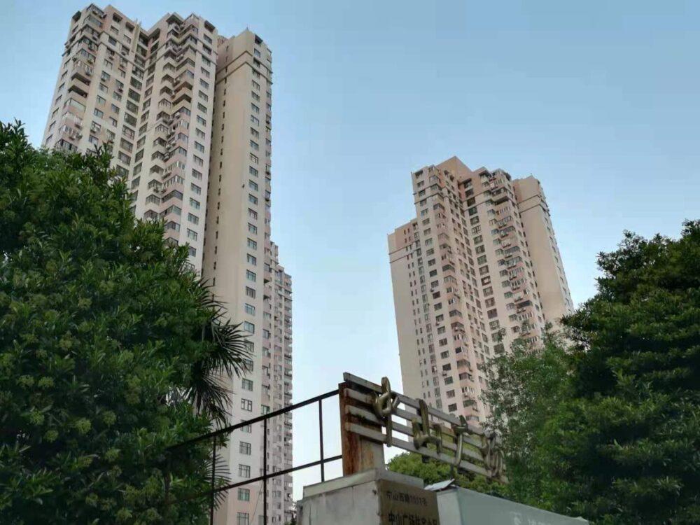 上海の駐在員の家の外観の写真